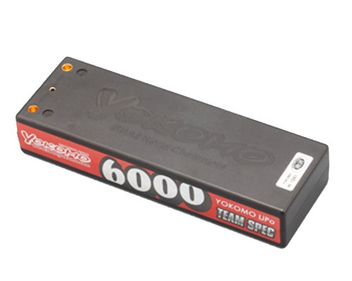 TEAM SPEC YOKOMO 7.4V 6000mAh 2セル リポバッテリー YB-P260BG