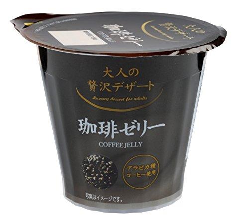 和歌山産業 大人の贅沢デザート 珈琲ゼリー 110g×12個