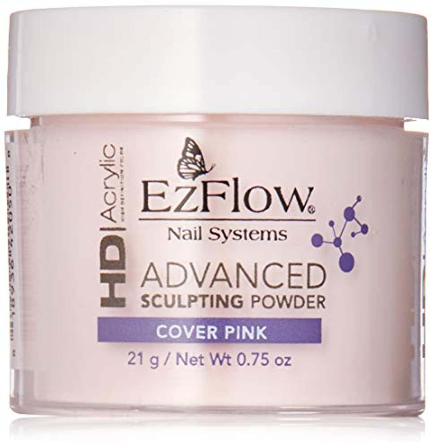 導体電話するビールEzFlow High Definition Powder - HD Cover Pink Powder - 0.75oz / 21g