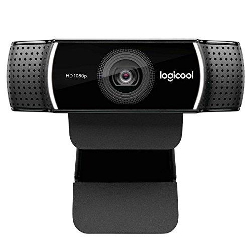 Logitech C922 Pro Stream Webcam ロジテック プロ ストリーミング ウェブカム Webカメラ フルHD1080p [並行輸入品]