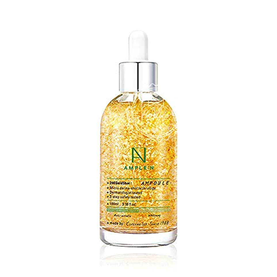 Coreana Lab Ample N 24K Gold Shot Ampoule 100ml.