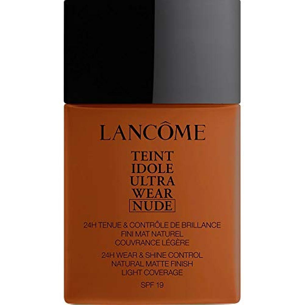疲れたピクニックをするボリューム[Lanc?me ] ランコムTeintのIdole超摩耗ヌード財団Spf19の40ミリリットル13.2 - ブラン - Lancome Teint Idole Ultra Wear Nude Foundation SPF19...