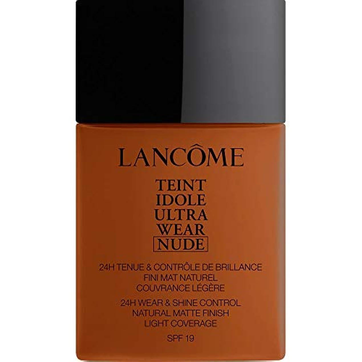 ハーフうんざり彼女の[Lanc?me ] ランコムTeintのIdole超摩耗ヌード財団Spf19の40ミリリットル13.2 - ブラン - Lancome Teint Idole Ultra Wear Nude Foundation SPF19...