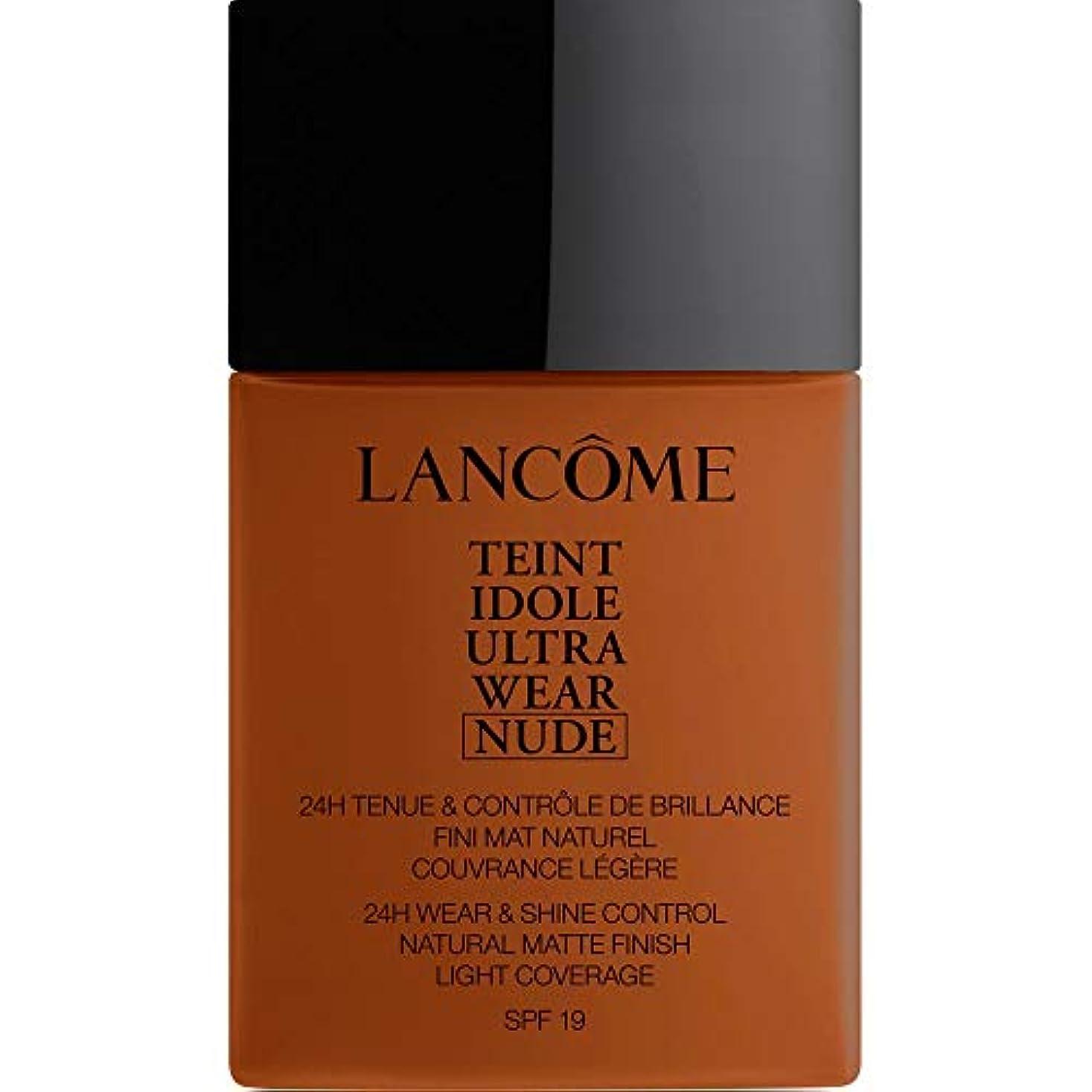 準拠割合連想[Lanc?me ] ランコムTeintのIdole超摩耗ヌード財団Spf19の40ミリリットル13.2 - ブラン - Lancome Teint Idole Ultra Wear Nude Foundation SPF19...