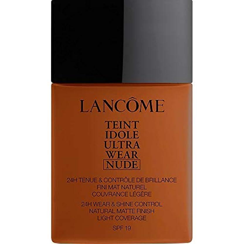 掃くアクティビティ電化する[Lanc?me ] ランコムTeintのIdole超摩耗ヌード財団Spf19の40ミリリットル13.2 - ブラン - Lancome Teint Idole Ultra Wear Nude Foundation SPF19...