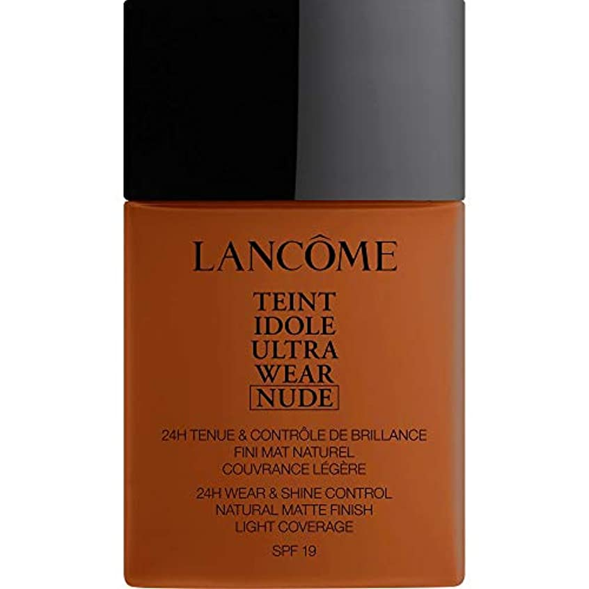 フリッパーコントラスト適用する[Lanc?me ] ランコムTeintのIdole超摩耗ヌード財団Spf19の40ミリリットル13.2 - ブラン - Lancome Teint Idole Ultra Wear Nude Foundation SPF19...