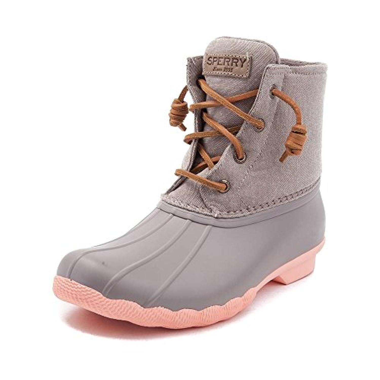 (スペリートップサイダー) SPERRY TOPSIDER 靴?シューズ レディースボートシューズ Womens Sperry Top-Sider Saltwater Boot Taupe トープ US 7.5 (24.5cm)