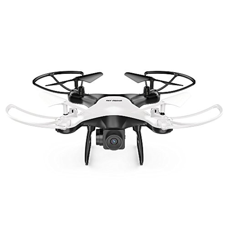 MingXiao 黒、白 2.4GHz 4軸安定ジンバル耐久航空機 FPD RCドローン720P HDカメラライブビデオ 広角ホバー3DロールクアドコプタースカイファニーUav
