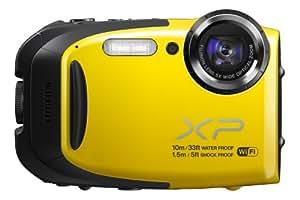 FUJIFILM コンパクトデジタルカメラ XP70Y イエロー F FX-XP70Y