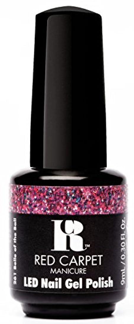 何十人も地中海副Red Carpet Manicure - LED Nail Gel Polish - Trendz - Belle of the Ball - 0.3oz / 9ml