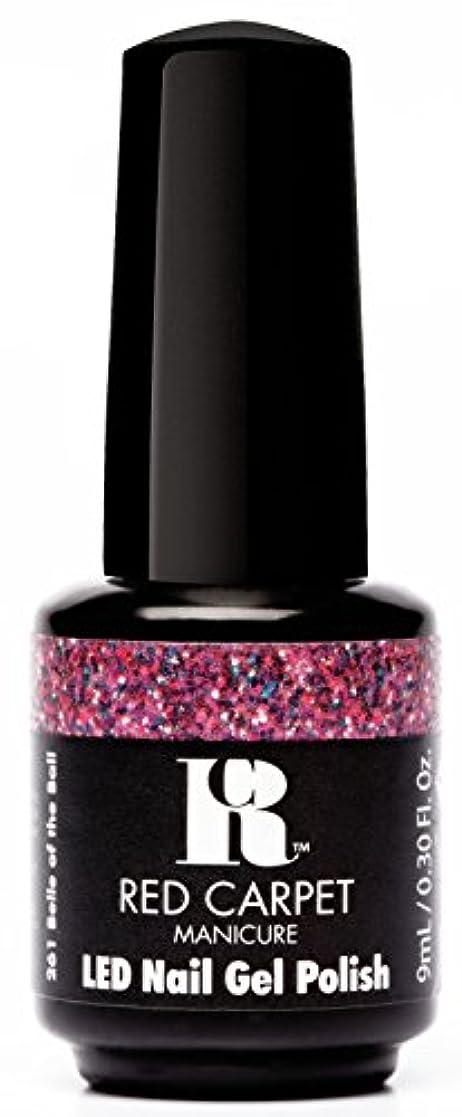収束せがむアレルギー性Red Carpet Manicure - LED Nail Gel Polish - Trendz - Belle of the Ball - 0.3oz / 9ml