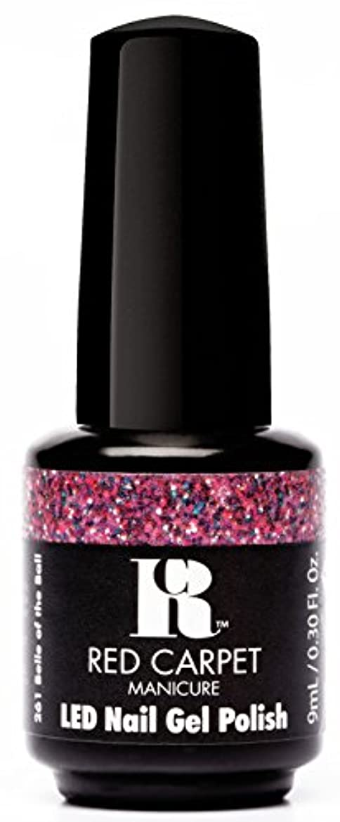 材料風景世辞Red Carpet Manicure - LED Nail Gel Polish - Trendz - Belle of the Ball - 0.3oz / 9ml