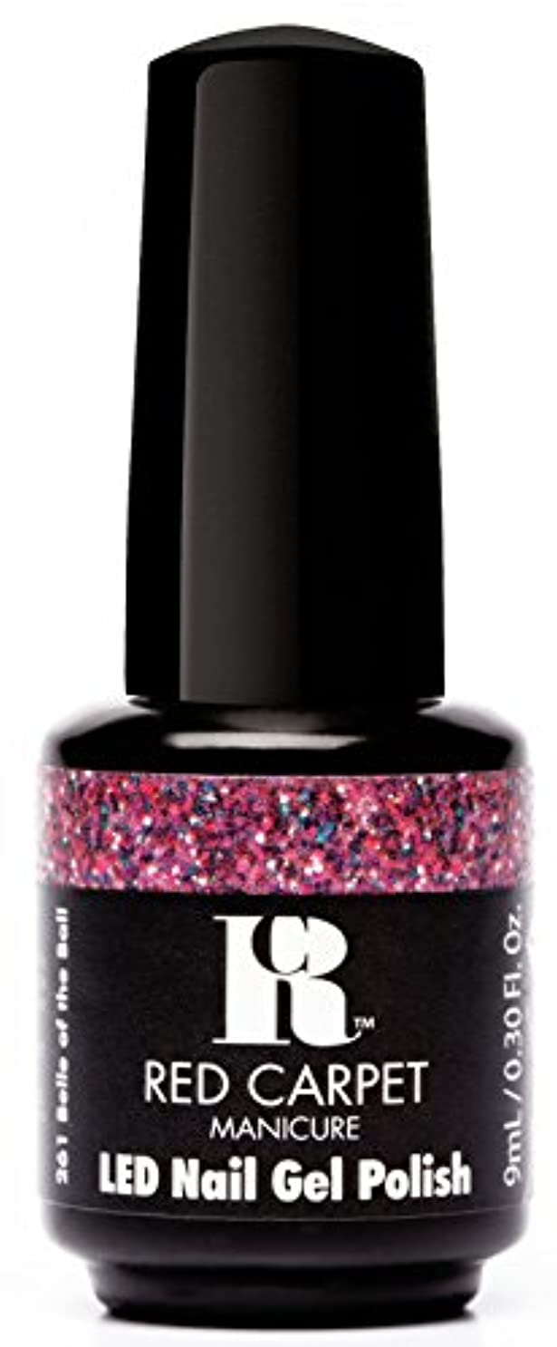 スナック村費やすRed Carpet Manicure - LED Nail Gel Polish - Trendz - Belle of the Ball - 0.3oz / 9ml
