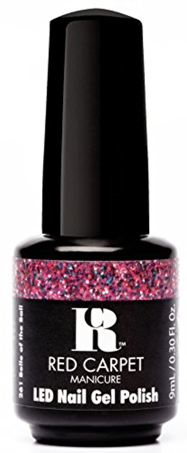 福祉シャンパンクラシカルRed Carpet Manicure - LED Nail Gel Polish - Trendz - Belle of the Ball - 0.3oz / 9ml