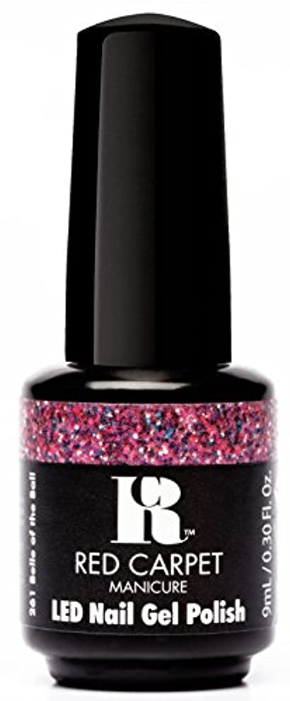ほのめかすキャプチャー定規Red Carpet Manicure - LED Nail Gel Polish - Trendz - Belle of the Ball - 0.3oz / 9ml