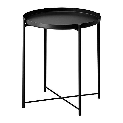 IKEA/イケア GLADOM:トレイテーブル ブラック (004.119....