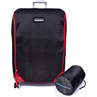 Luggage Glove 3D-Mesh Suitcase Protector Cover with TSA Approved Lock
