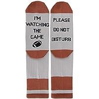 Novelty Funny Saying Crew Socks Beer Wine Coffee Basketball Baseball Whiskey Scotch Vodka Design Gift for Men Women