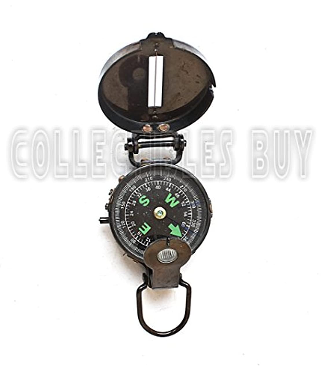 み要求策定するLensaticコンパスブラックMilitary CompassesヴィンテージアンティークNavigational Marine