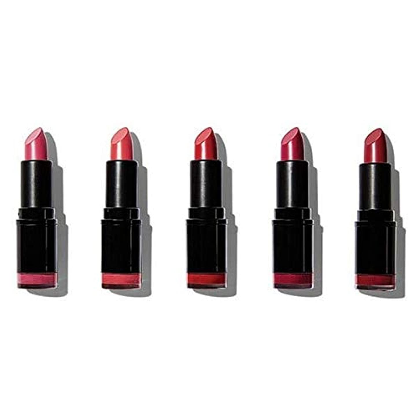 折り目ドループ後[Revolution ] 革命プロ口紅のコレクションマット赤 - Revolution Pro Lipstick Collection Matte Reds [並行輸入品]