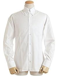 BARBA バルバ メンズ ワイシャツ ロングポイント タブカラー ピンオックス 長袖 KKU862514401U