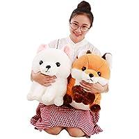 [XINXIKEJI]ぬいぐるみ おもちゃ ぬいぐるみ 動物 かわいい キツネ 抱き枕 ぬいぐるみ お祝い ぬいぐるみ 綿 ふわふわ 赤ちゃん 女性 抱き枕 プレゼント ビッグサイズ ブラウン
