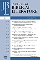 Journal of Biblical Literature 137.3 (2018)