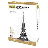 lozusaエッフェル塔280個ダイヤモンドブロックMicroブロックアーキテクチャ建設モデル、micro-sized Buildingセット親子ゲーム建物ブロック子供の教育玩具