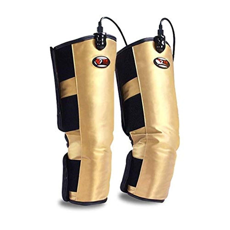 タックル防腐剤排他的加熱された膝ブレースラップのサポート、足の循環、けいれん性関節炎の回復両親のためのコントローラと筋肉の循環をリラックス高齢者の贈り物