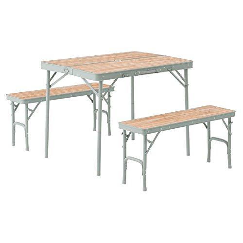 ロゴス ベンチテーブルセット
