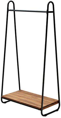 アイアン*ウッド ハンガーラック 幅78cm×奥行41cm×高さ152.5cm パイン材 オイル仕上げ PH-780BRN #Home #B00TZNDUA0