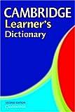 Cover of Cambridge learner's dictionary. Intermediate to upper intermediate
