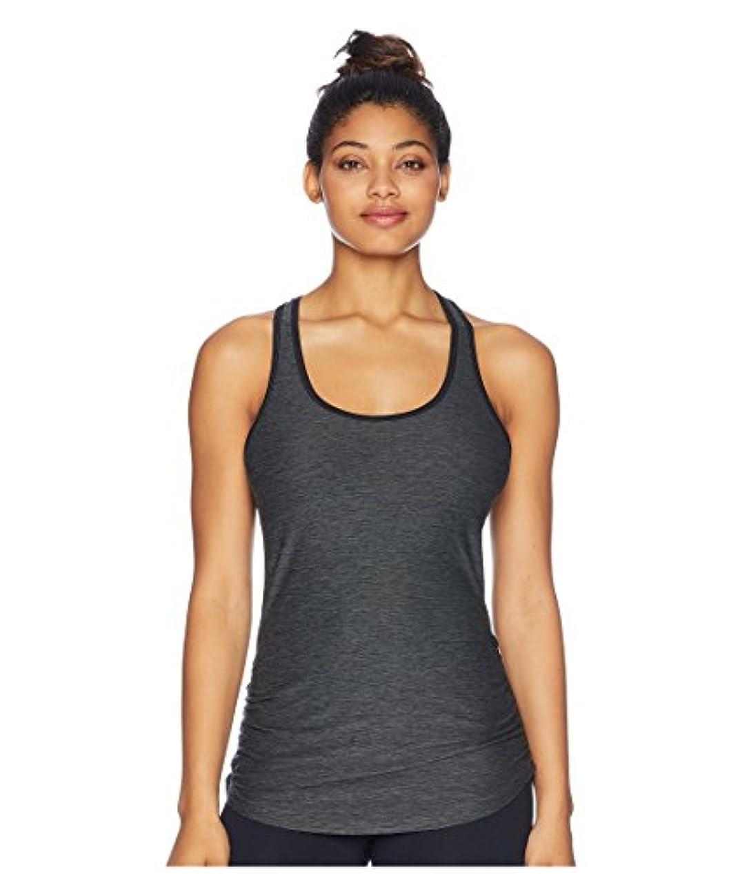 全体に誘う硬い[new balance(ニューバランス)] レディースタンクトップ?Tシャツ Perfect Tank Top Heather Charcoal 2XL (2XL) One Size