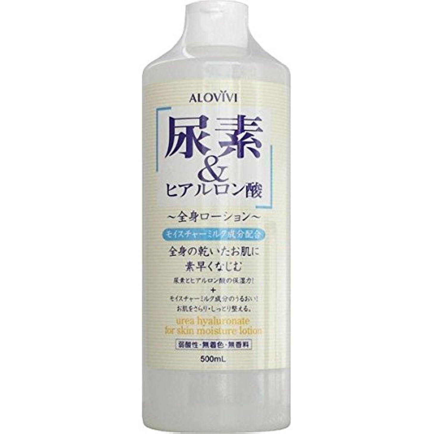 アロヴィヴィ ALOVIVI 尿素&ヒアルロン酸全身ローション 500ml
