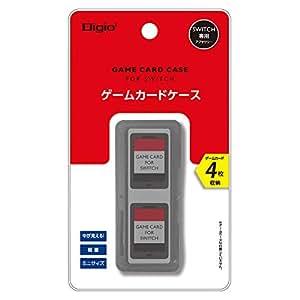 Nintendo Switch (ニンテンドースイッチ) 用 カードケース 4枚収納 ブラック Z1666