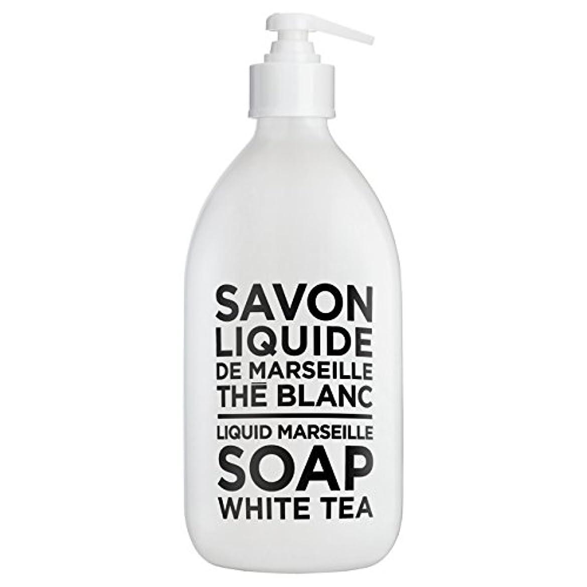影響力のある検索びっくりするカンパニードプロバンス ブラック&ホワイト リキッドソープ ホワイトティー(ホワイトティーにシトラスを添えた気品ある香り) 500ml