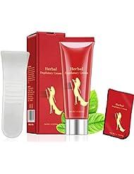 Creacom 除毛 脱毛クリーム 敏感肌用 40g 天然保湿成分 低刺激 ムダ毛ケア シャワータイム用 ユニセックスOK アンダーヘアー