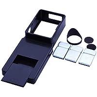 ミニ700TVL FPVカメラ5.8G 48CH 0/25 / 200mWトランスミッタ120度FPVカメラNTSC FPVレーシングドローンクアドコプター(ブラック)