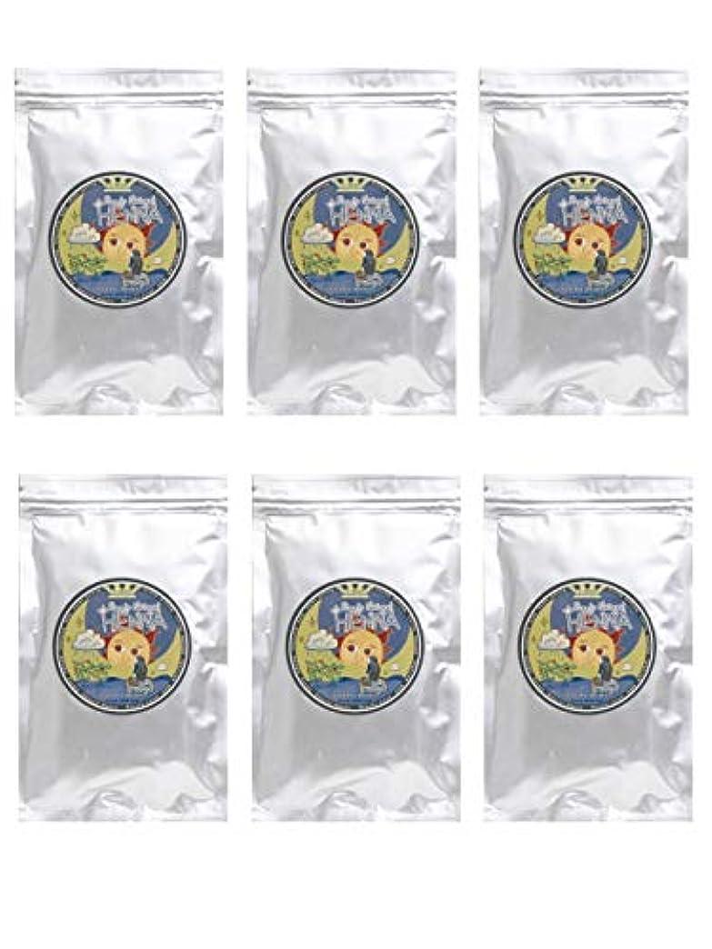 勉強する成分トムオードリースラムーンヘナ 100g×6袋セット (ナチュラルブラウン)【6袋】)