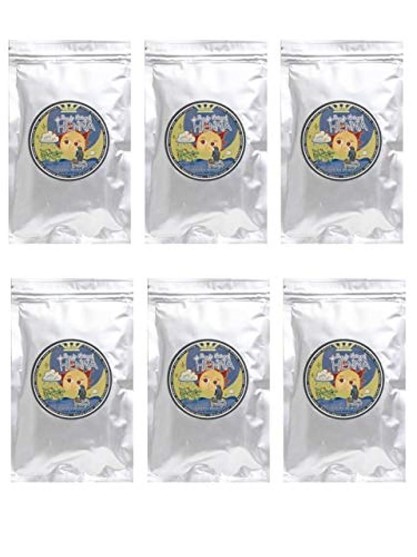 修正歯科医ハンバーガーラムーンヘナ 100g×6袋セット (ナチュラルブラウン)【6袋】)
