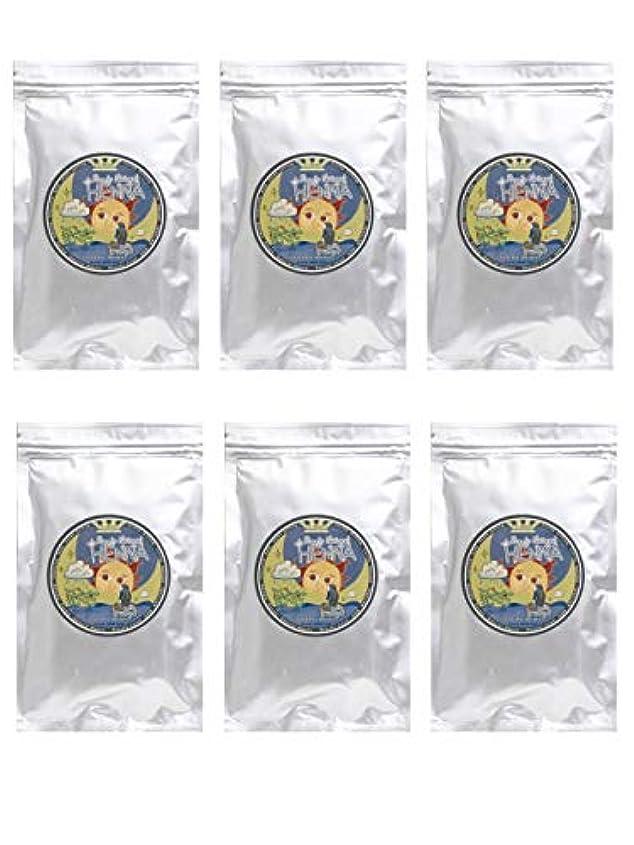 できた進化チーフラムーンヘナ 100g×6袋セット (ナチュラルブラウン)【6袋】)