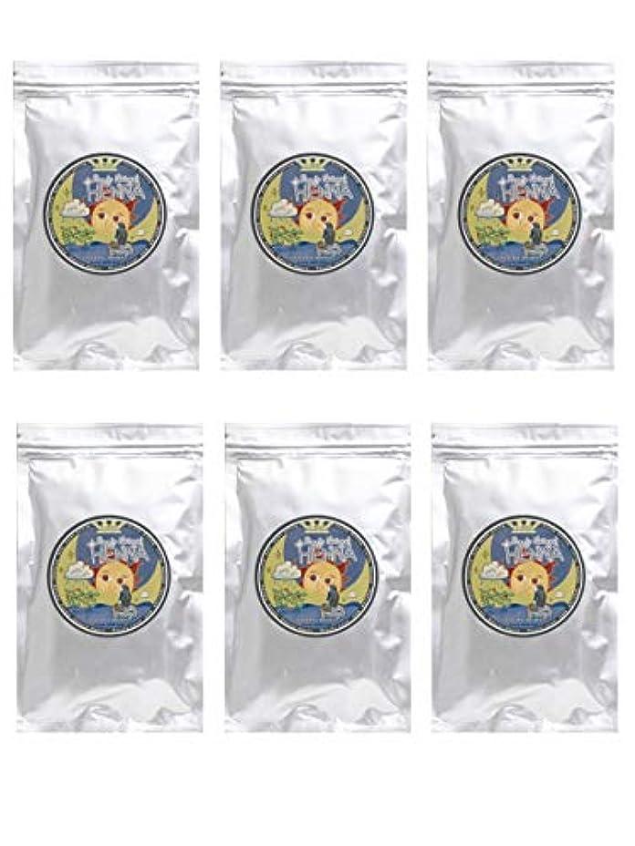 降伏血統交換ラムーンヘナ 100g×6袋セット (ナチュラルブラウン)【6袋】)
