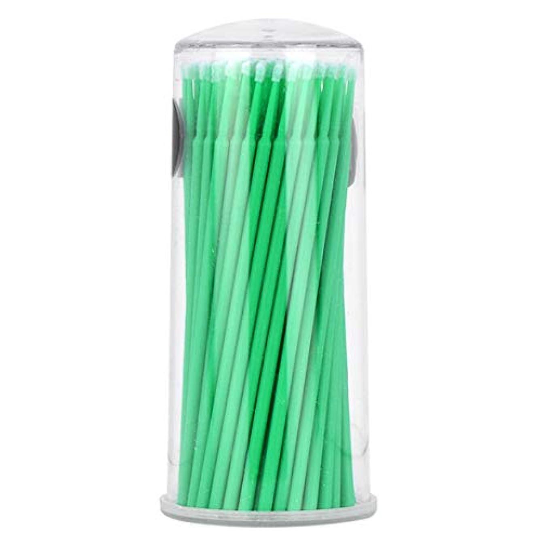 政府心理的にもっと少なくIntercoreyボトル使い捨てマイクロブラシ綿棒使い捨てマイクロブラシ毛羽立ちのない入れ墨化粧ブラシ綿棒スティック