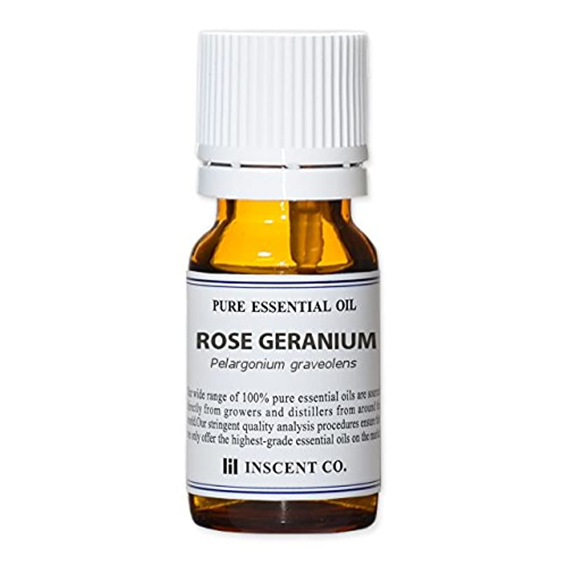 品種欠席飛ぶローズゼラニウム 10ml インセント アロマオイル AEAJ 表示基準適合認定精油