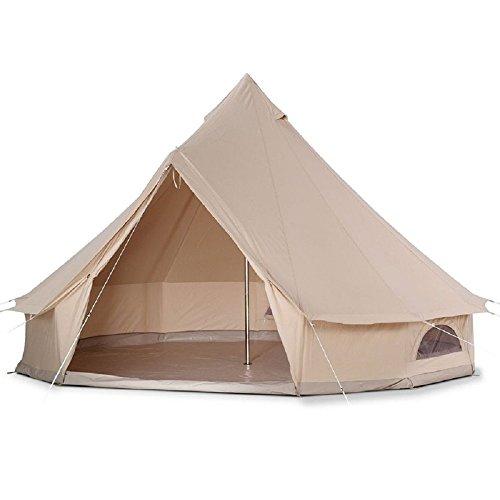 D&R Bell tent 3m ハイクオリティ 100%コットン仕様 防水...