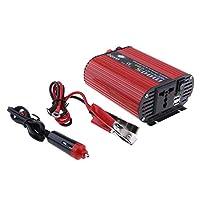 D DOLITY 車 500W パワー インバーター DC 24V →AC 220V サイン 波デュアル USBコンバータ 超小型サイズ