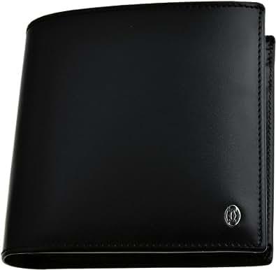Cartier 【カルティエ】  L3000137 ブラック 二つ折り財布 (小銭入れ付) PASHA