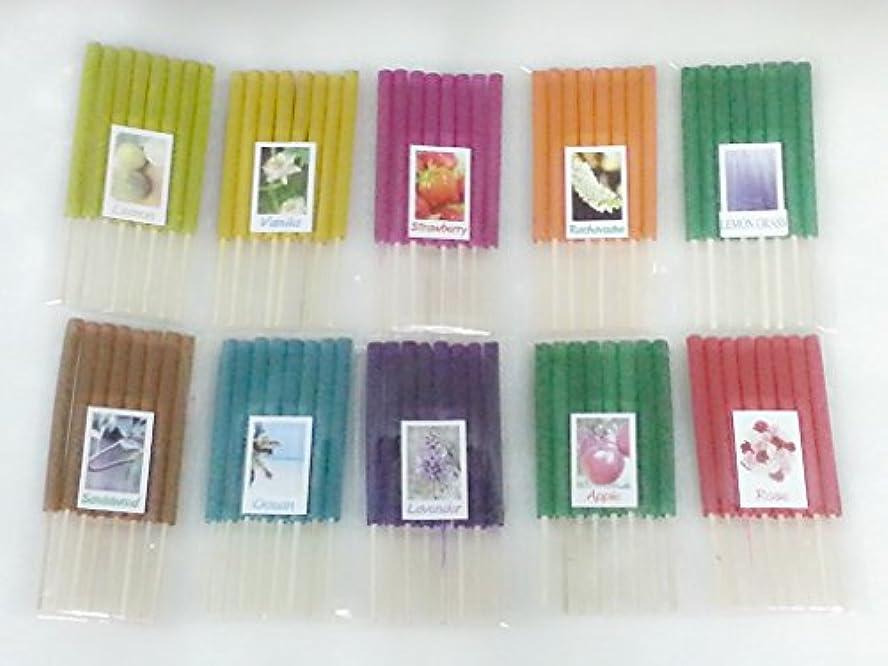 言うまでもなく許可パーセントセット12 Mixアロマ10 Scents 80 Sticks Mini Incense Sticks Thai Spaアロマセラピーホームのハーブ&香料、長さ3インチ