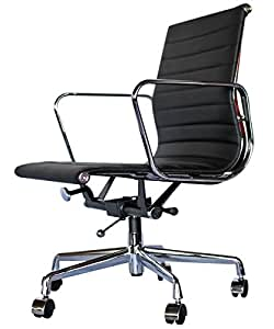 MR-STORE イームズデザインタイプ オフィスチェア サークル肘 ブラック
