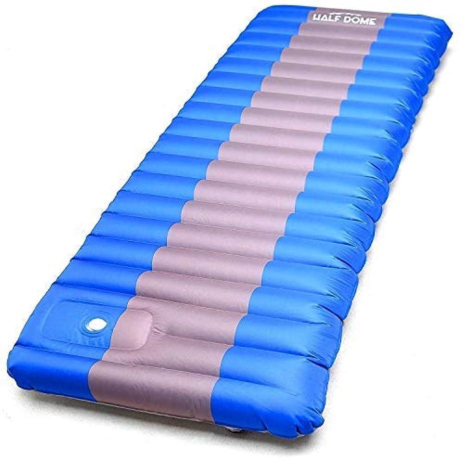 中傷波紋含めるHalf Dome Sleeping Pad Waterproof Mat - Perfect Hiking, Camping, Car Sleeping, Backpacking Air Sleeping - Inflatable Sleep Bag Pad Built in Pump [並行輸入品]